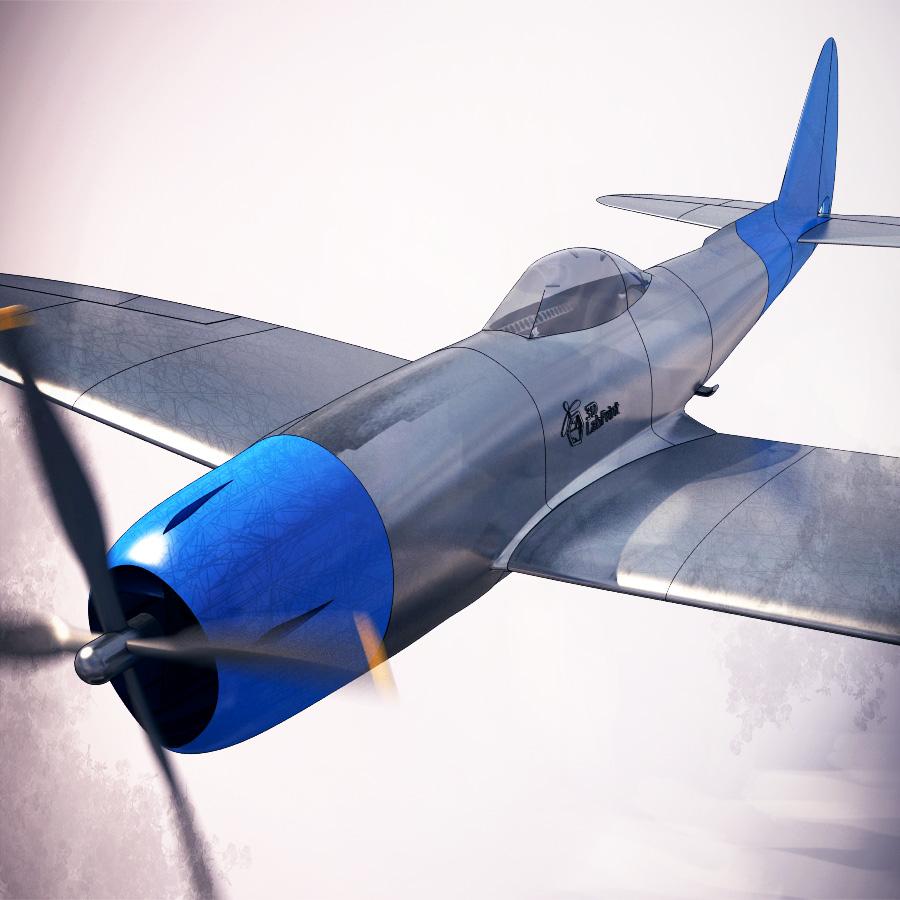 P47 N 15 Thunderbolt 3dlabprint