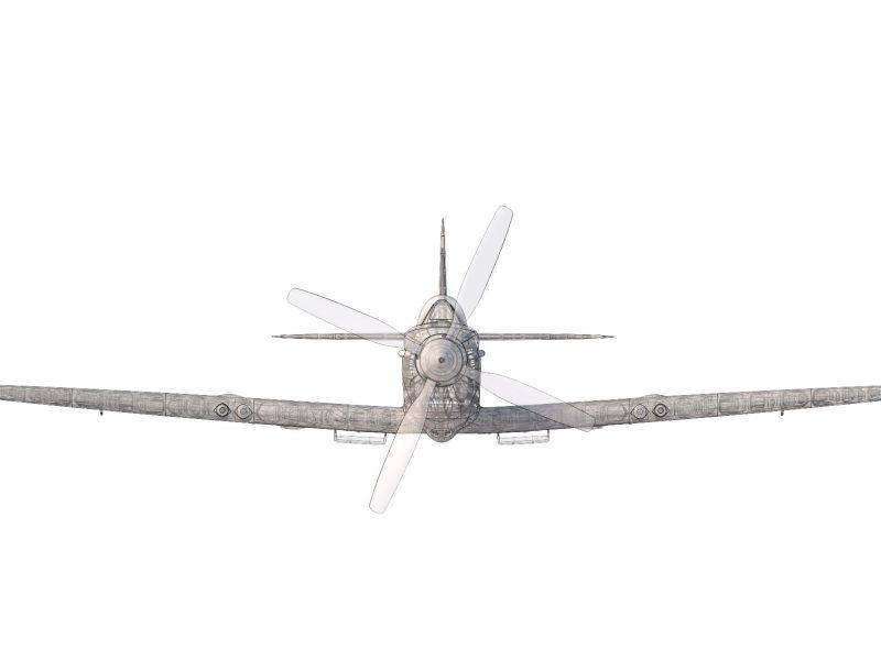 spitfire_MkIX_front